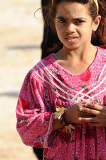 irakisches Mädchen