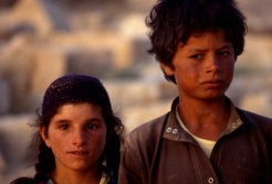 childs in syria