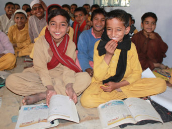a school in pakistan