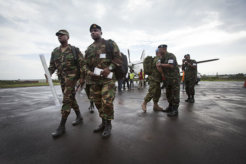 Delegation of Intervention Brigade in Goma 1