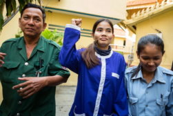 Cambodian Land-Rights Activist Yorm Bopha Makes Final Court Appeal