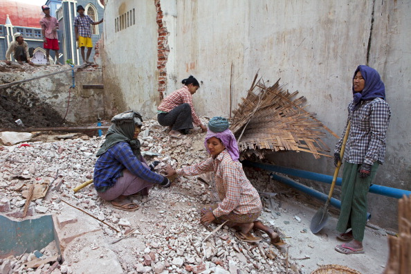 forced labour work in Myanmar (Burma)