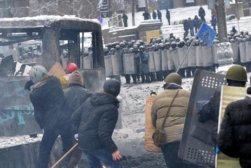 186850_UKRAINE_Police_in_violent_clashes_with_protesters
