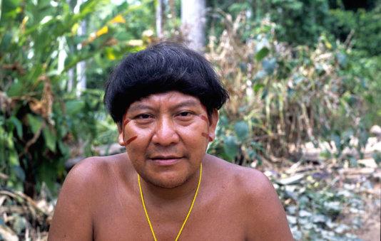 Yanomami shaman and spokesman, Davi Kopenawa. Illegal mining is putting the Yanomami's lives at risk. © Fiona Watson/Survival
