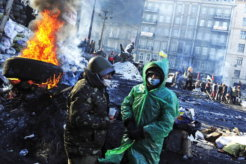 Protests Continue In Kiev As Parliament Offers Amnesty To Protesters