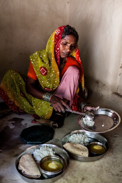 Images Of Rural Economy As Hunger In India Remains Present