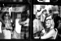 Enjoying public transports