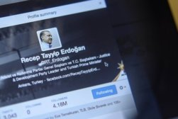 erdogan twitter account