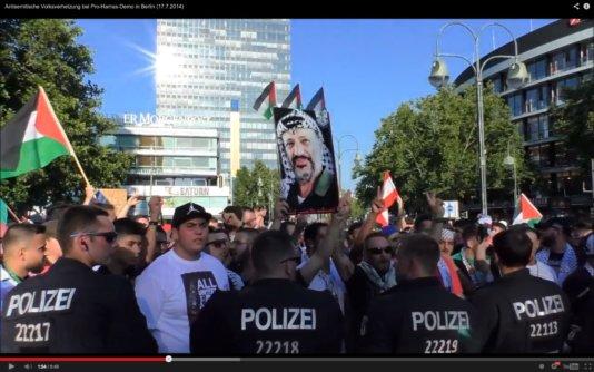 demo antisemitisch parolen berlin
