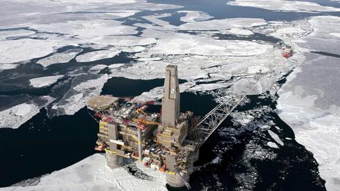 gasplattform arktis