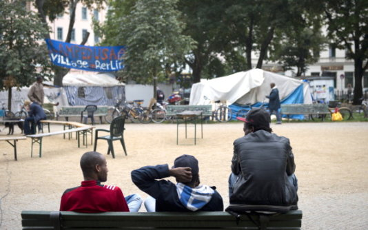 Refugee Camp Oranienplatz Berlin