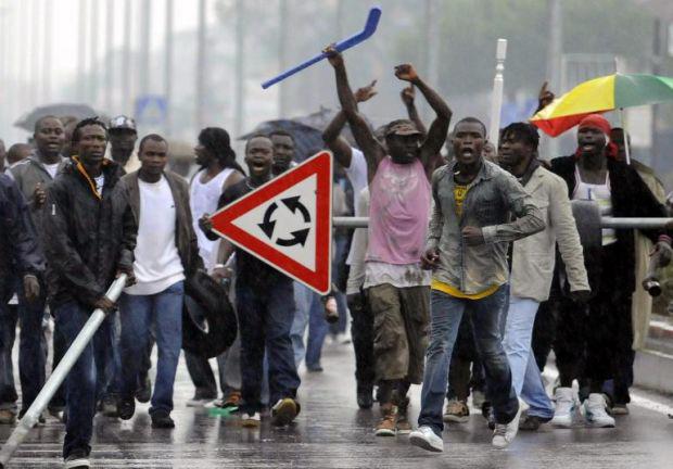 Riots in Rosarno 2010