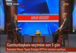 erdogan on NTV armenian