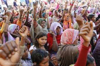 Peaceful Forest Protest in India