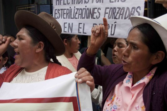 Peruvian women seek redress