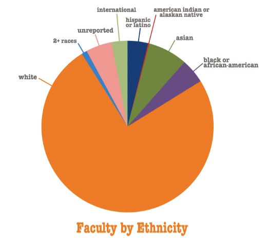 Statistics about Students at \'the New School\', a university in greewich village in New York City.