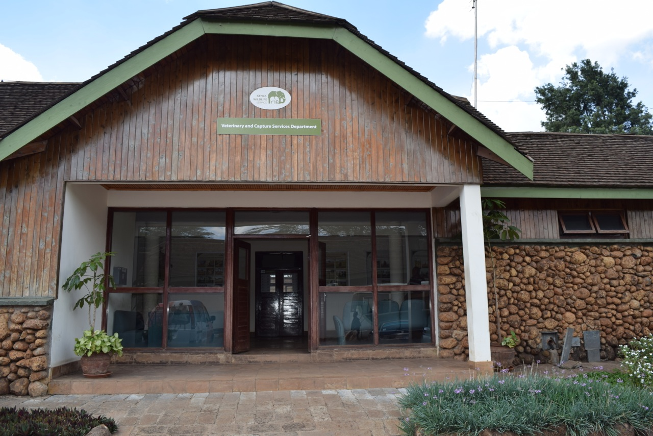 The Veterinary office at the Kenya wildlife service to house the forensic lab.