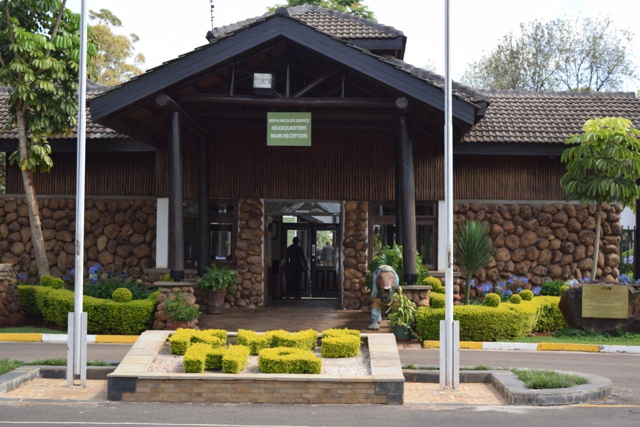 Kenya wildlife service headquarters in Nairobi.
