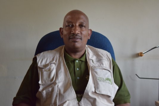 Paul Gathitu, KWS Spokesperson.