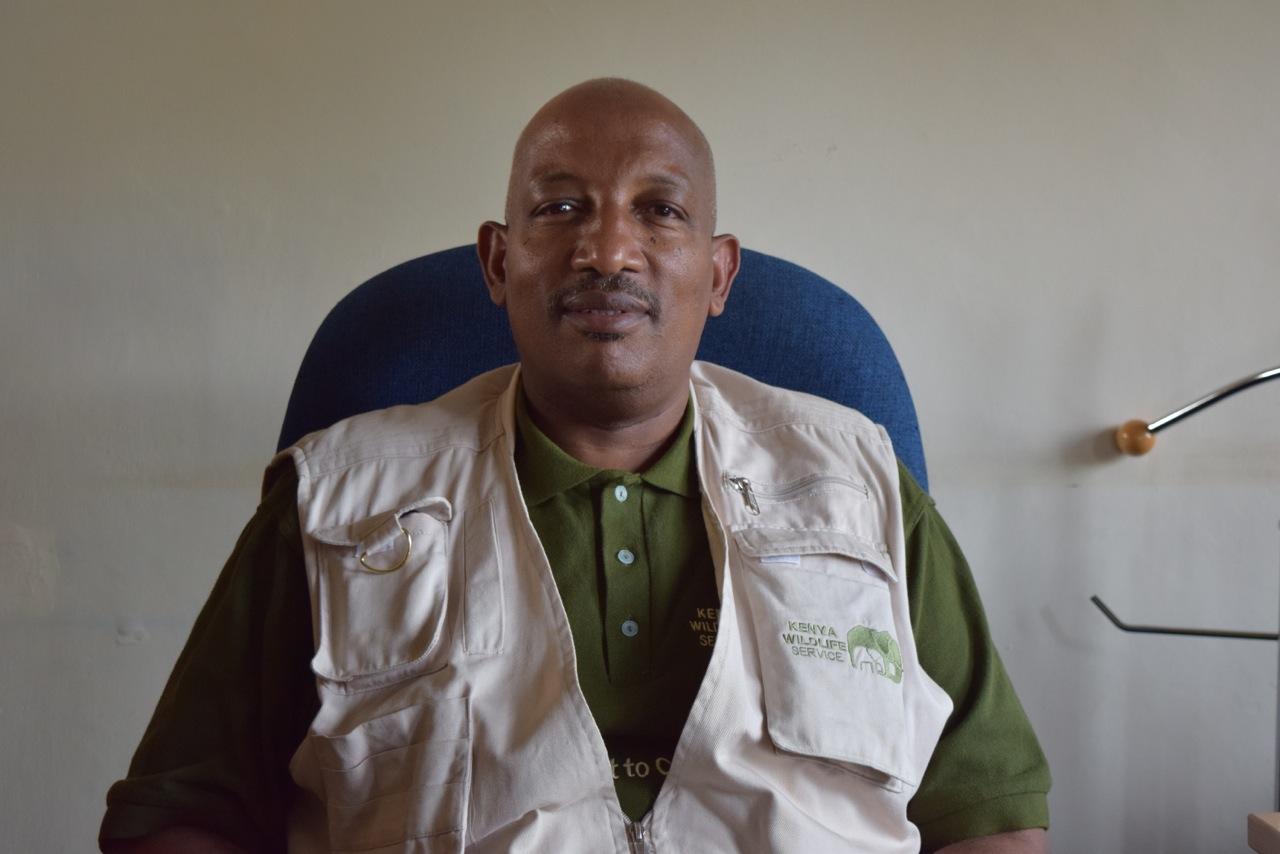 Paul Gathitu, KWS Spokesperson.