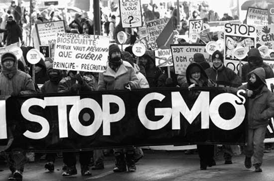 GMO-protestors
