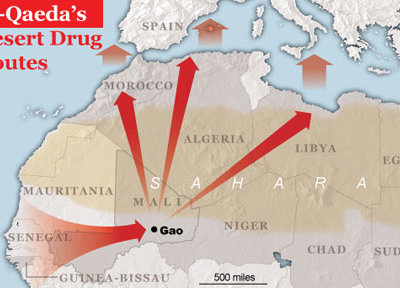 al qaida drug route