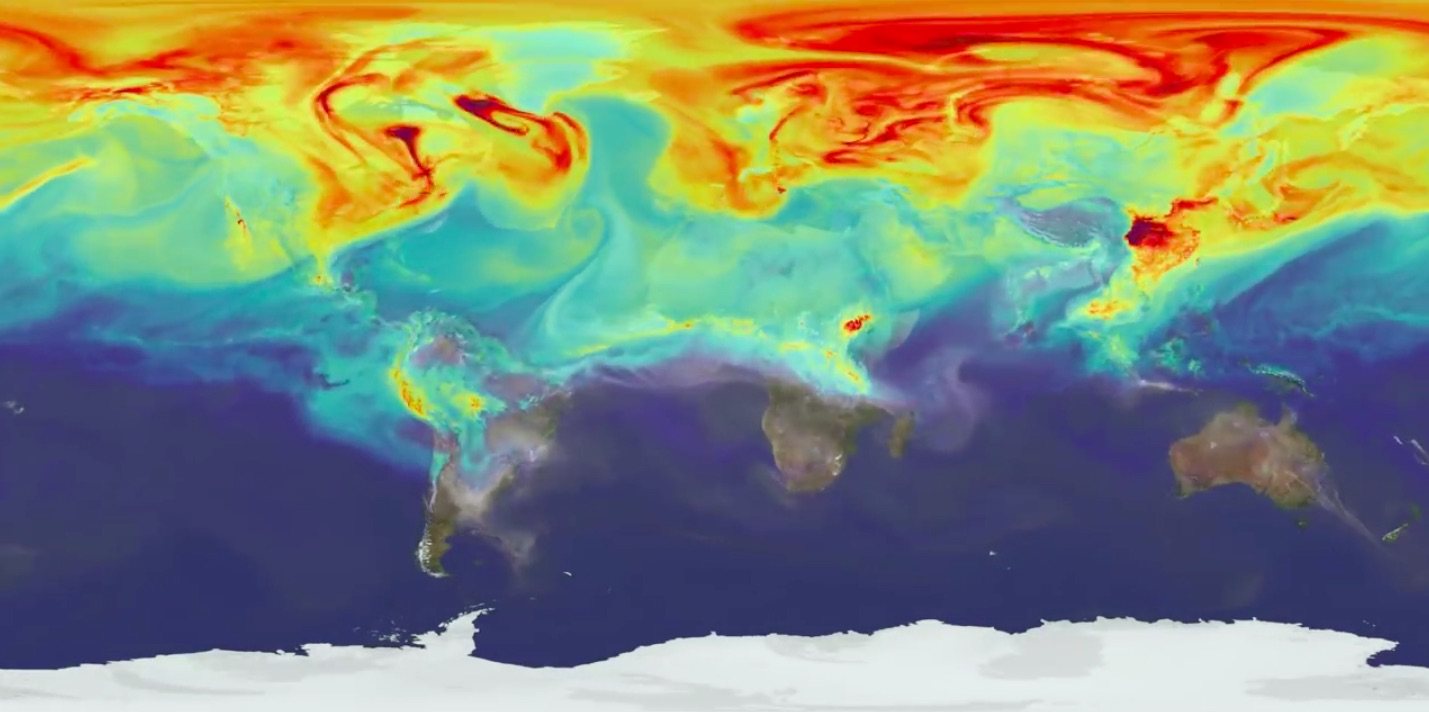 nasa co2 earth 2