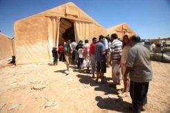 syrian refugee camp UNHCR