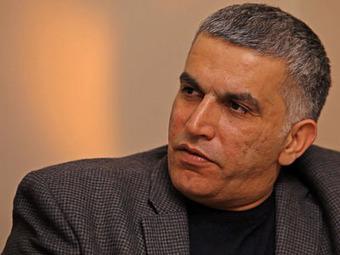 Bahraini human rights activist Nabeel Rajab