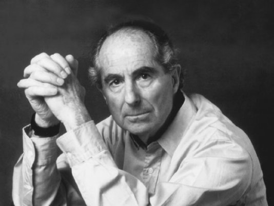 Philip Roth, the author of \'I married a communist\'.
