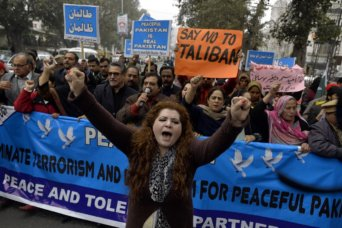 peace rally against military courts paksitan