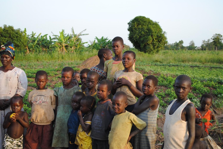 014_Kinder eines Bauerndorfes Norduganda © Frank Odenthal