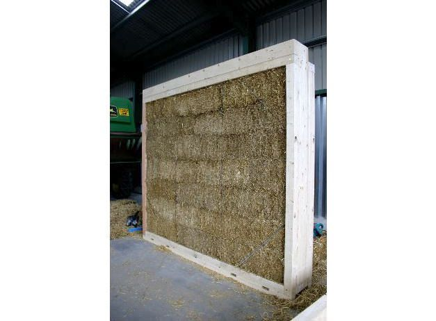 """We have conducted a number of fire tests that have demonstrated that fire resistance from straw bale construction is remarkably good and better than many contemporary forms of construction."" says Prof Pete Walker."