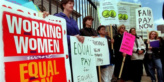 Equal pay rally