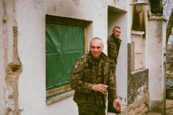 Bosnian Soldier Guards