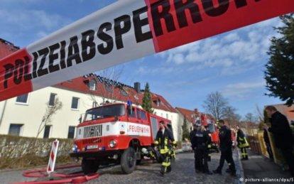 Arson in Troeglitz