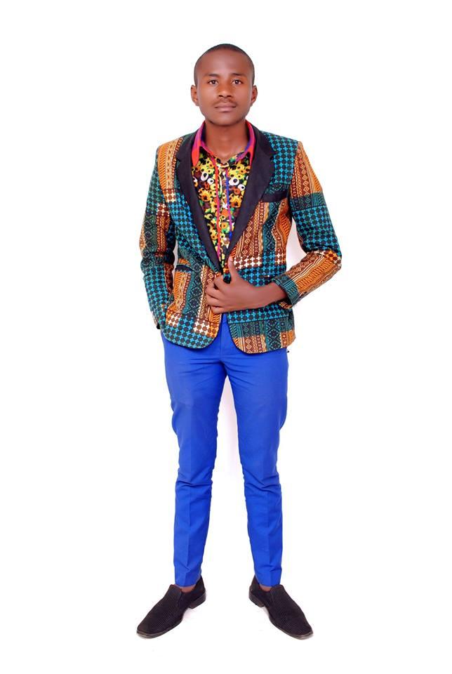 Freddie Gitari, creator of his Kenyan designer brand \'Young Freddie\'