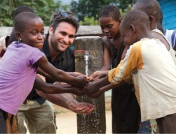 Josh Braunstein enjoys using first clean water