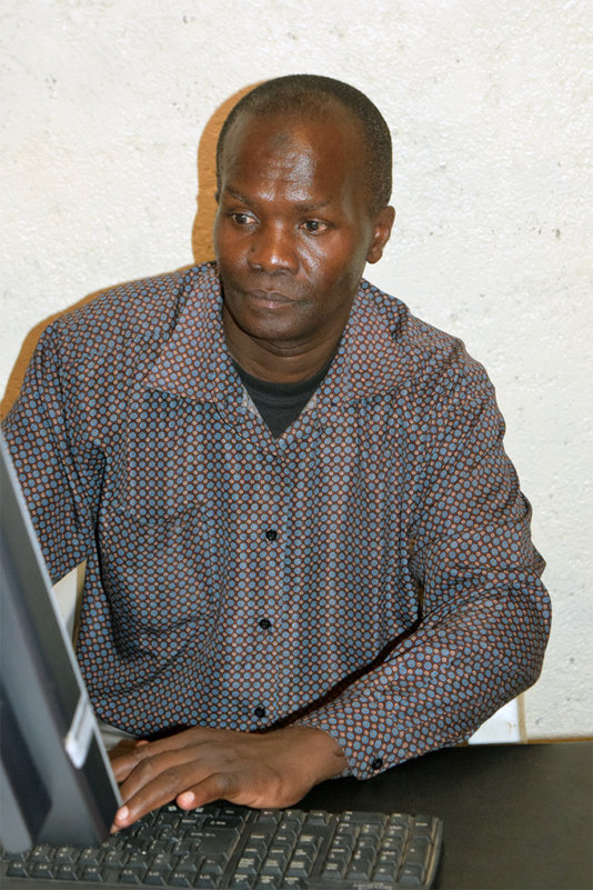 Shaffie Ali Hussein - activist and chairman of the Nubian rights forum