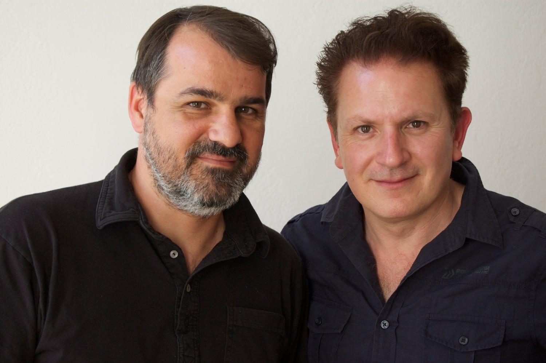 Director Kornél Mundruczó and interviewer Marc Hairapetian