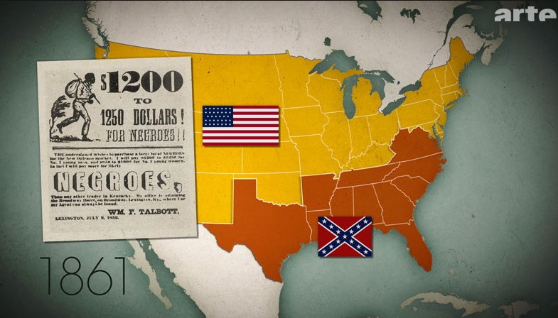 Racism in the USA: In the US, after 11 states had left the Union to continue to exploit black slaves in 1861, it came to a civil war. The Confederates lost the war, and slavery was abolished. But a separation between whites and blacks was enforced in most states by a legal racial segregation.