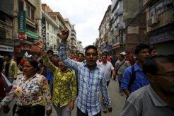 nepalprotestwomen