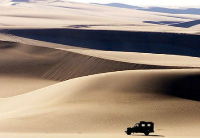 egypt vehicle sand dune