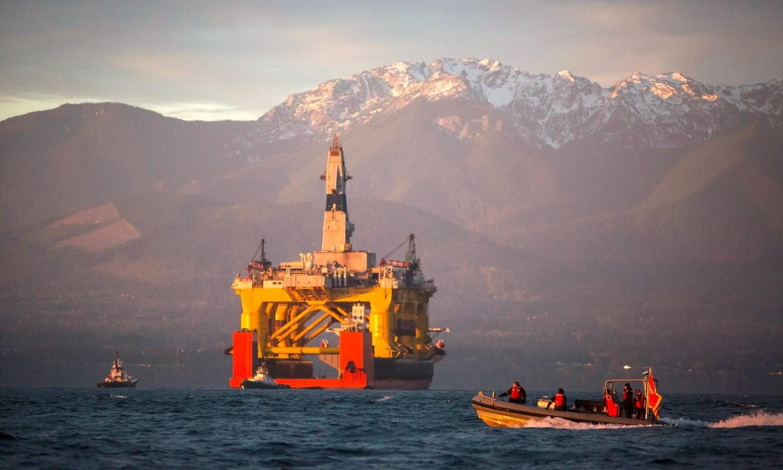 Shell drilling exploration