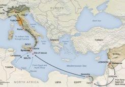 afghanistan refugee map