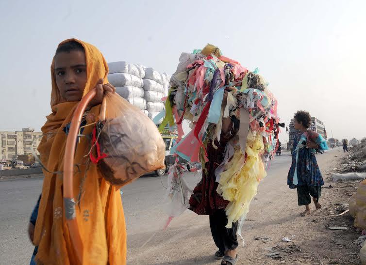 Khadija and her sisters in Karachi 2