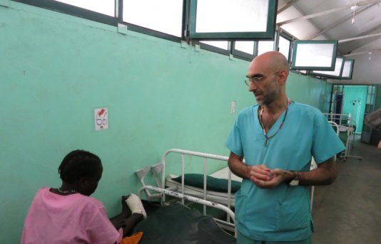 """Dr Tom"", as he's known to the locals, is the only surgeon serving the 750,000 people living in the mountain region."