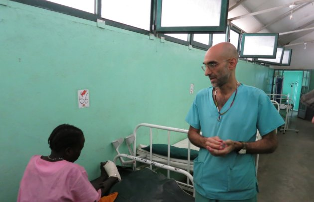 """""""Dr Tom"""", as he's known to the locals, is the only surgeon serving the 750,000 people living in the mountain region."""