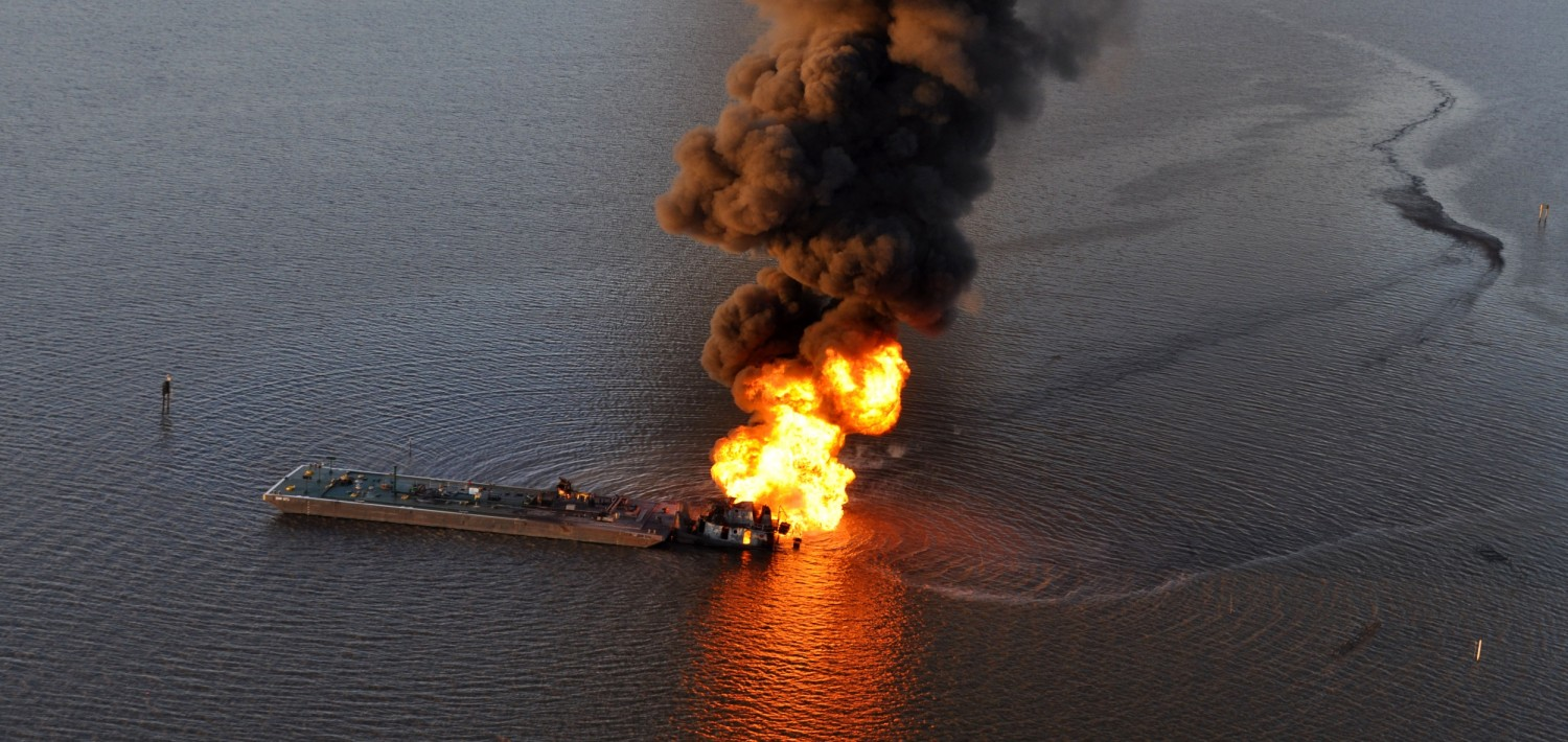 Coast Guard continues response to allision, oil spill south of New Orleans