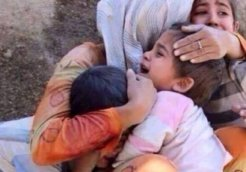 Children-crying-in-terror-Yemen